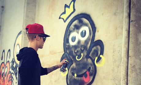 Justin Bieber Monkey Art: Is It Racist?