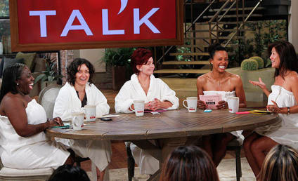 The Talk Goes Makeup Free!