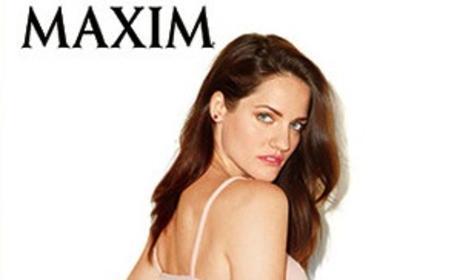 Kate Stoltzfus Maxim Photos: Breaking Amish Star Strips Down (Sort Of)!