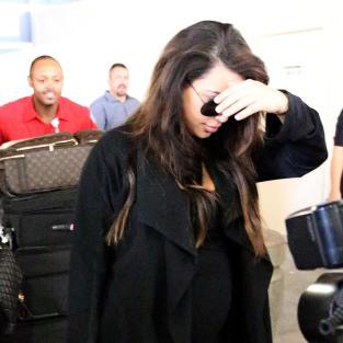 Kim Kardashian Hides