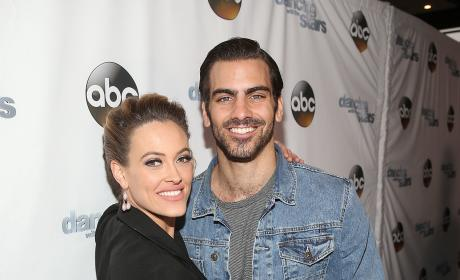 Peta Murgatroyd and Nyle DiMarco: Dancing With The Stars Semi Finals Episode Celebration