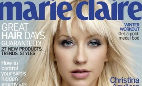 Christina Aguilera Covers Marie Claire