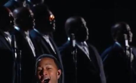John Legend and Common Grammy Awards Performance 2015