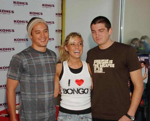Talan Torriero, Kristin Cavallari and Stephen Colletti: BONGO Jeans Appearance