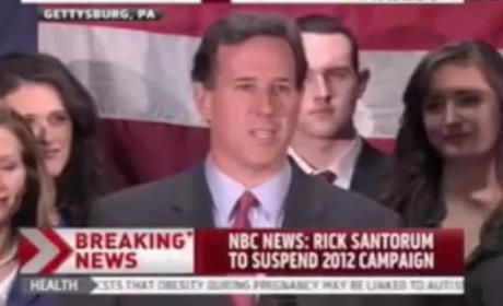Rick Santorum Drops Out of GOP Race