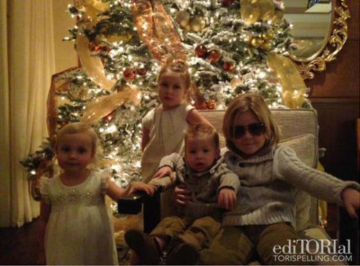 Tori Spelling's Kids