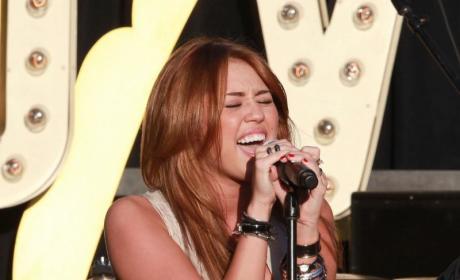 More Miley Cyrus MySpace Photos