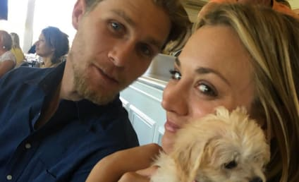 "Kaley Cuoco: ""So Happy"" With Beau Karl Cook, Not Engaged...Yet"