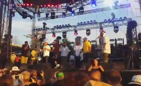 Wu-Tang Sign Language Interpreter Steals Show at Bonnaroo
