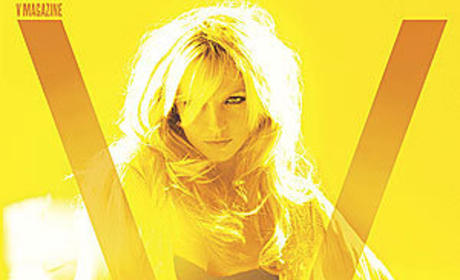 Britney Spears Covers V Magazine, Looks Sensual