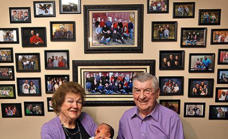 Illinois Couple Welcomes 100th Grandchild!