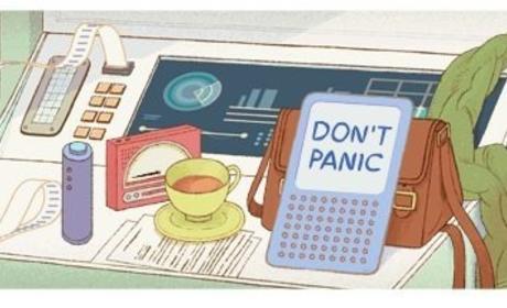 Douglas Adams' Birthday Inspires Google Doodle