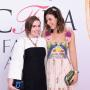 Lena Dunham at the CFDA Awards