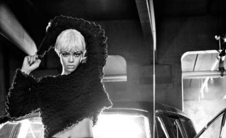 Rihanna: Blond, Masculine For Armani Jeans