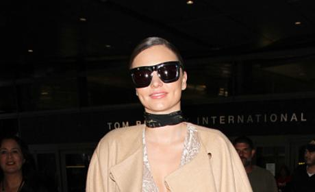 Miranda Kerr Sighted in Los Angeles Looking Great