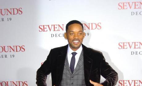 At Seven Pounds Premiere