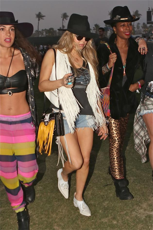 Fergie at Coachella