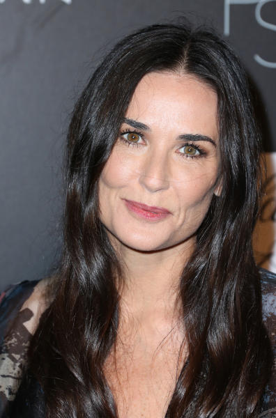 Demi Moore Smiles