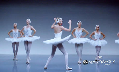 Taylor Swift as a Ballerina