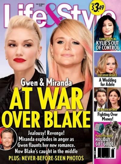 Miranda Lambert & Gwen Stefani Life & Style Cover