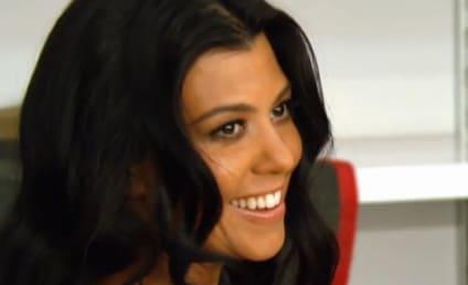Kourtney Kardashian Naked on Keeping Up: Behind the Scenes!
