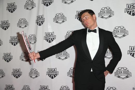 Ryan Lochte Golden Goggle Award Pic
