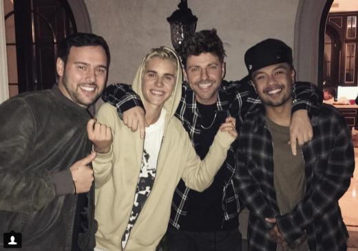 Justin Bieber and Pals