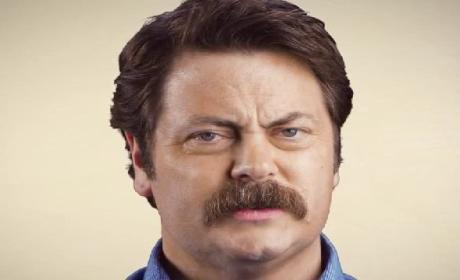 Nick Offerman to Mustache Growers: It Gets Fuller!