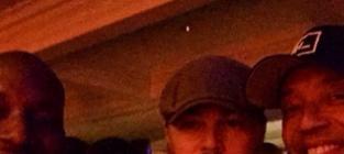 Leonardo DiCaprio, Tyrese, Russell Simmons