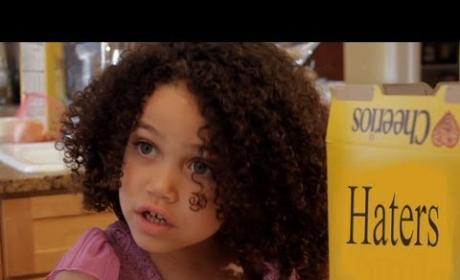 "Cheerios Ad Parody Tells Haters to ""Eat It"""