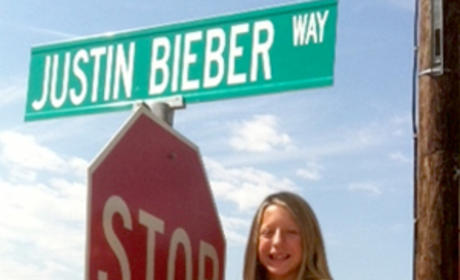 Justin Bieber Way: Christened in Forney, Texas!