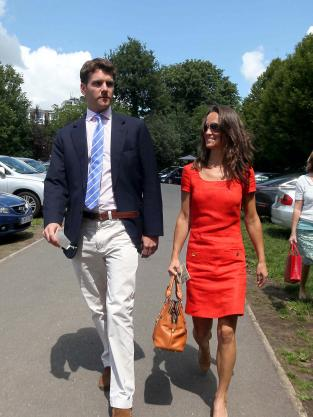 Pippa Middleton and Alex Loudon Sighting