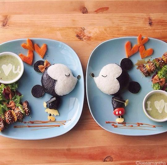 Mickey and Minnie Meal