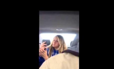 Dad Films Daughter Taking Selfies, Posts Hilarious Photo Shoot Online