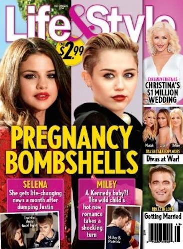 Selena and Miley: Pregnant?!?