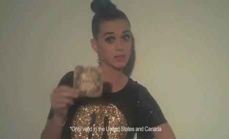 Katy Perry Part of Me Premiere Golden Ticket
