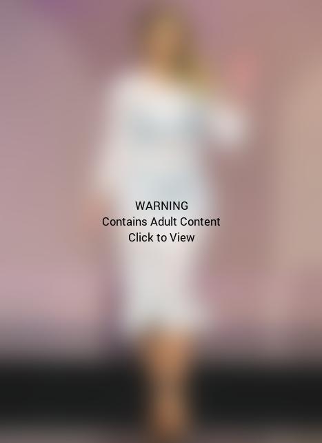 Kim Kardashian See-Through Dress
