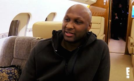 Lamar Odom: Not Homeless! Probably Not on Crack!