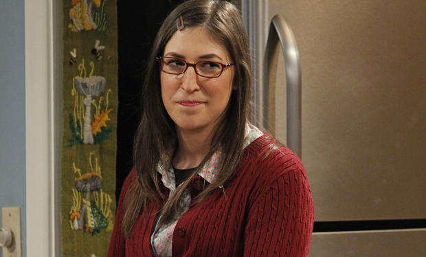 Mayim bialik on the big crash theory