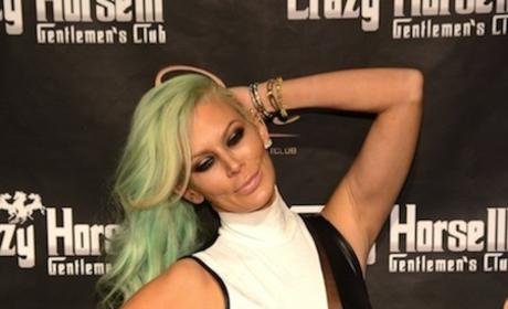 Jenna Jameson Green Hair