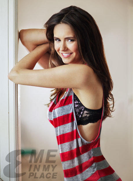 Nina Dobrev Esquire Photo