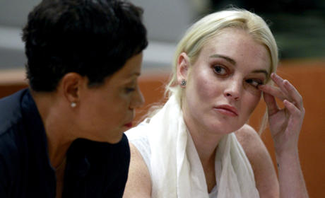 Lindsay Lohan Shows Up Late to Morgue; Officials Tell Train Wreck to Get Lost