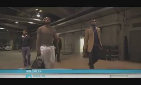 LeBron James Carrying Purse