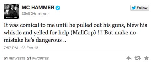 Hammer Tweets