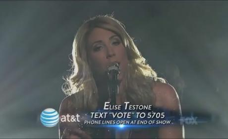 Elise Testone Takes us to Vienna on American Idol