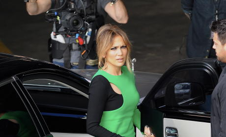 Jennifer Lopez: American Idol Taping