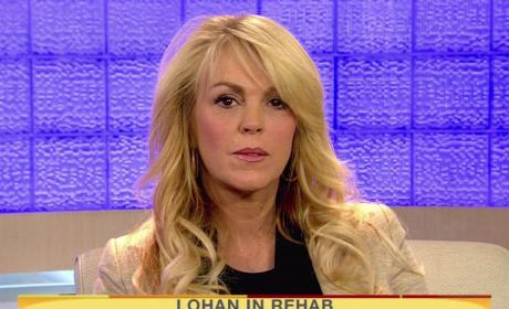 Dina Lohan on Today