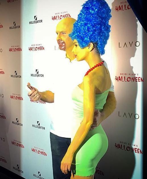 Emily ratajkowski made marge simpson sexy on halloween the hollywood gossip - Marge simpson nud ...