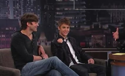Justin Bieber and Ashton Kutcher Talk Punk'd, Sex in Space on Jimmy Kimmel Live