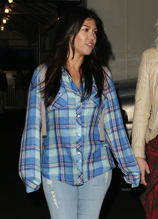 Kourtney Kardashian in The Hamptons